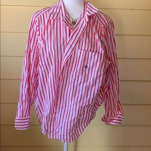 Tops - Ralph Lauren Red and white stripes